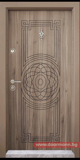 Блиндирана входна врата Т110 - Спарта