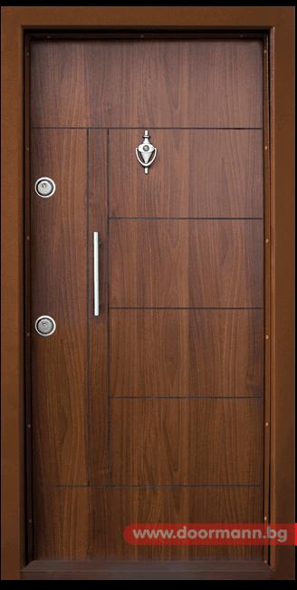 Блиндирана врата Т587 - Златен дъб